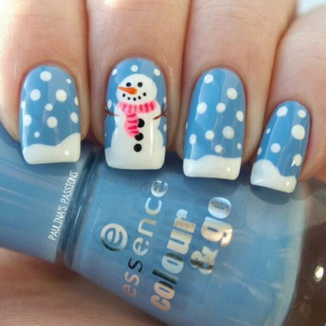 We All Know Christmas Means Red And Green Color But There Are Many Other Options That Can Go For Nail Arts