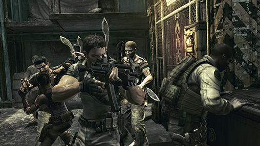 Resident Evil 5 HD GRAPHICS