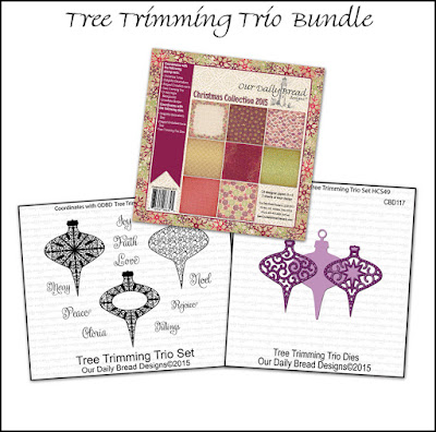 Our Daily Bread Designs Tree Trimming Trio Bundle