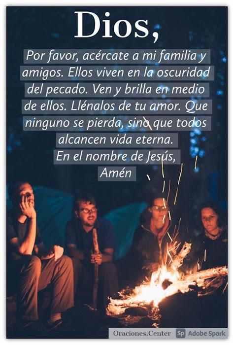 Oración por los Inconversos - Familia, Amigos y Conocidos.