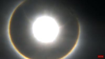 Fenomena Matahari Cincin (Halo Matahari) Hari Ini