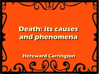 Death: its causes and phenomena