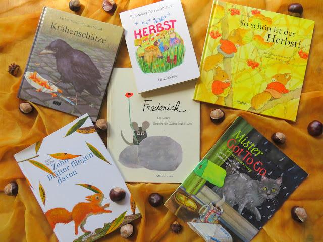 Bilderbuchempfehlungen zum Herbst