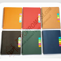 Notebook Colorfull + Post It (N-801)