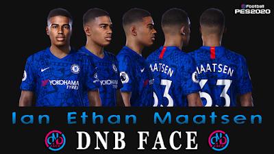 PES 2020 Faces Ian Maatsen by DNB