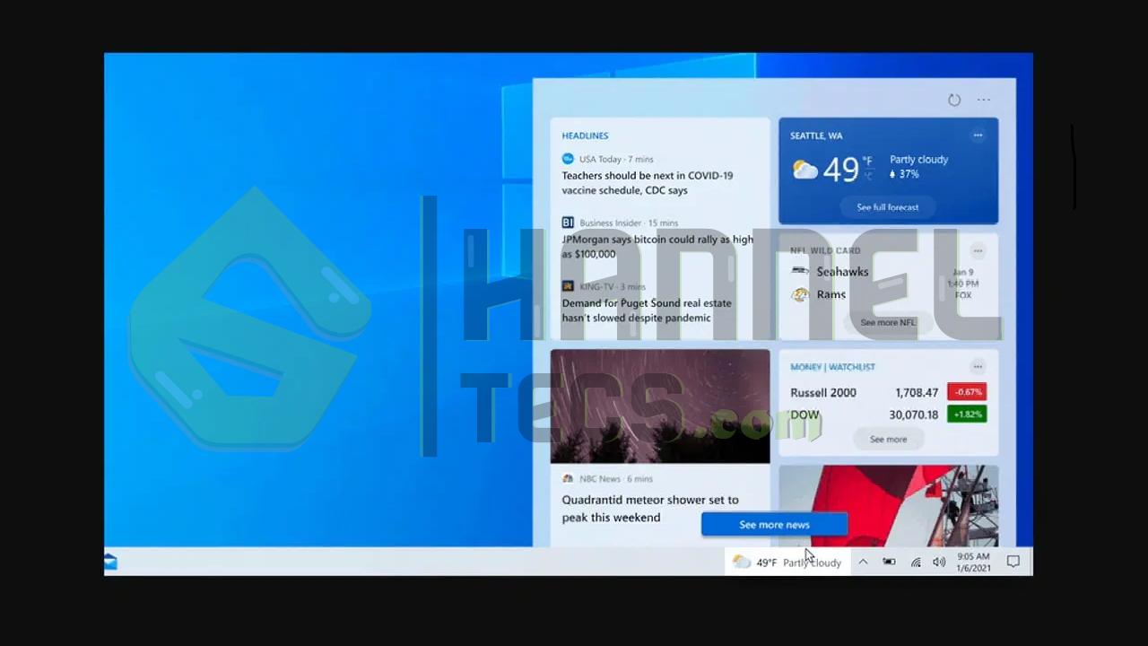 شاهد الأخبار الأخيرة عن تحديث Windows 10