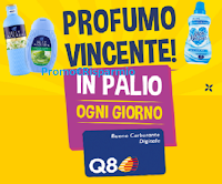 Logo Concorso Felce Azzurra '' Profumo vincente'' : vinci 123 buoni carburante da 50 euro