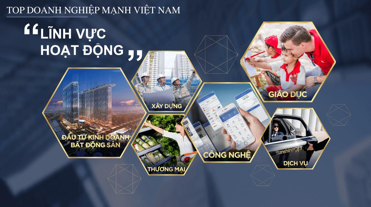 Sunshine Group - Top 100 doanh nghiệp mạnh nhất của Việt Nam