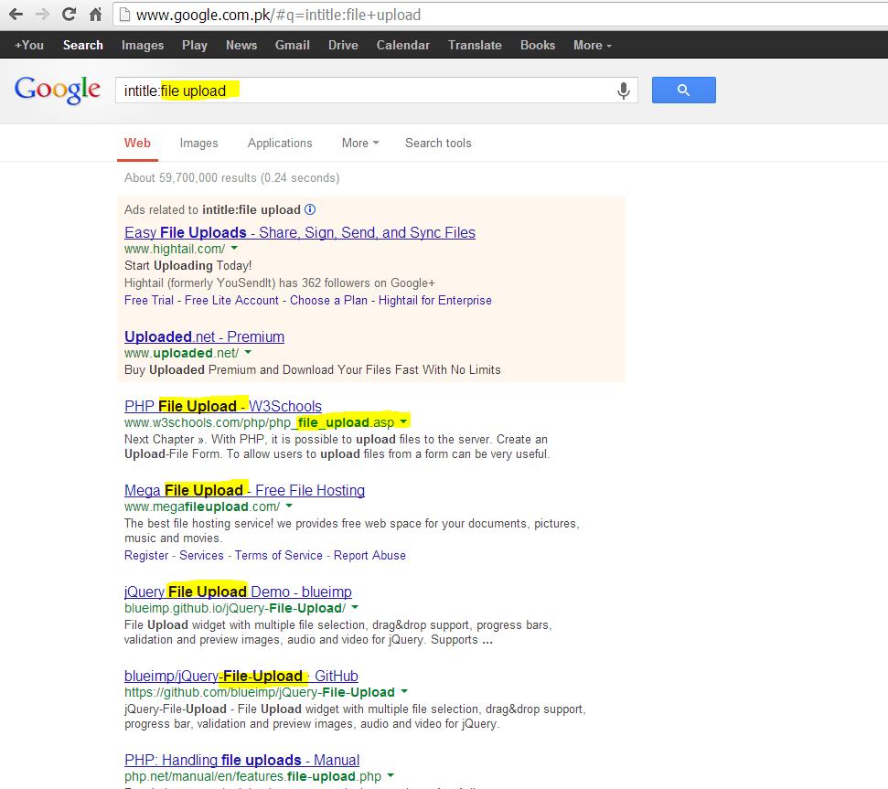 making your own google dorks for hacking - understanding
