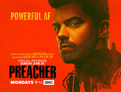 Preacher Season 2 Teaser One Sheet Television Banner - Jesse Custer