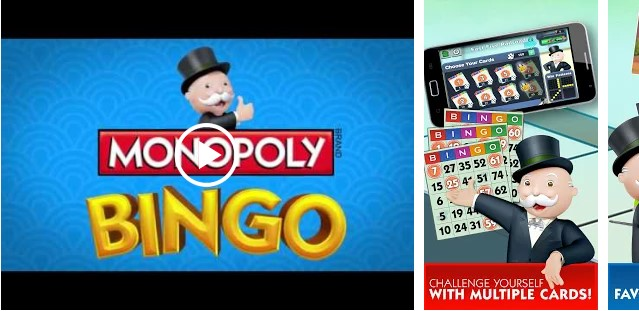Download this MONOPOLY Bingo Games For Android