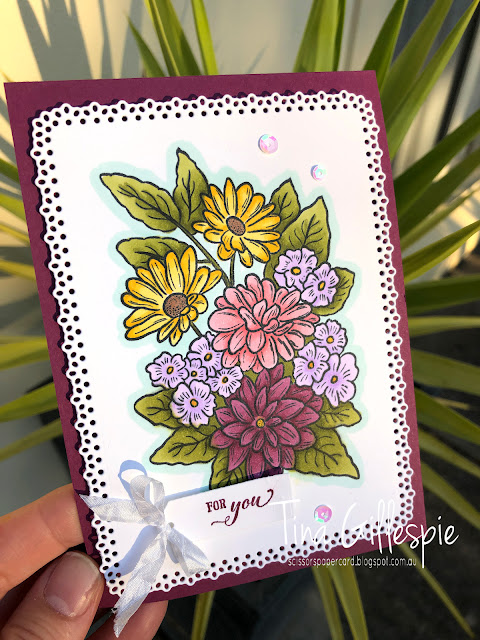 scissorspapercard, Stampin' Up!, Born To Shine, Ornate Style, Ornate Layers Dies, Ornate Frames Dies, Stampin' Blends