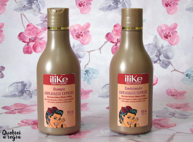 Kit Shampoo e Condicionador Hidratação Express - ILike Professional