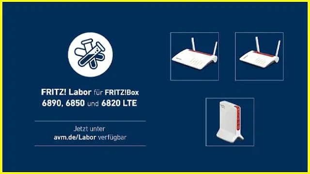 FRITZ! Box 6890, 6850, 6820 v1, v2 and v3 LTE with a new laboratory update