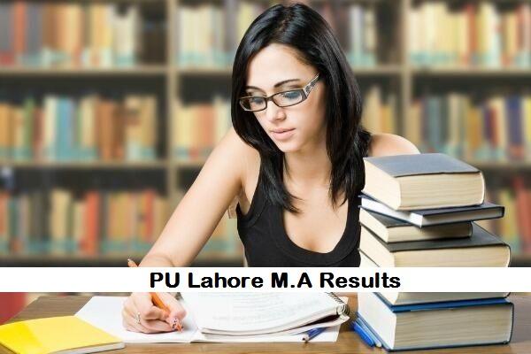 M.A English Part 1, 2 Result 2019 Punjab University Announced Today - pu.edu.pk