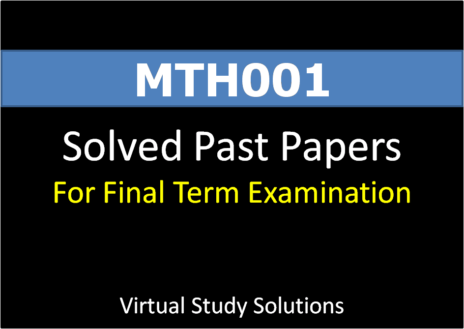 solved final term paper cs101