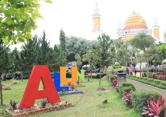 Lokasi favorit ngabuburit sukabumi - Alun-alun Digital jampang kulon