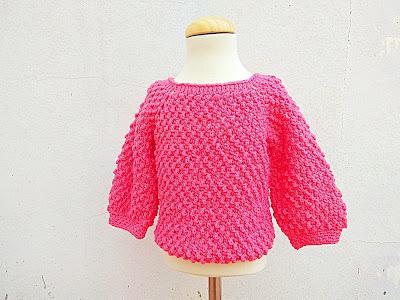 6 - Crochet Imagen Jarsey de nina a crochet muy rapido y sencillo por Majovel Crochet