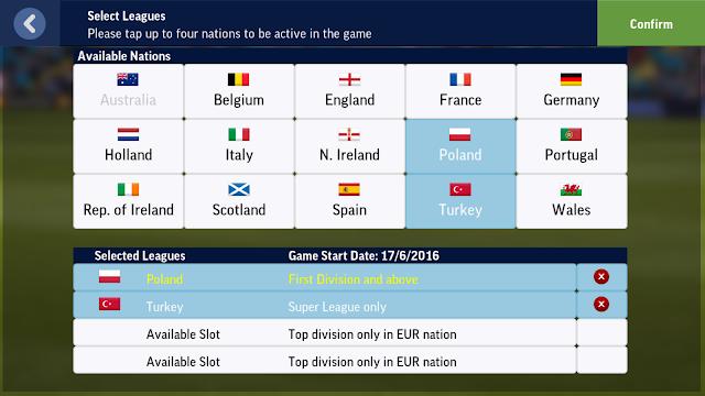 Screenshot Football Manager Mobile 2017