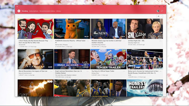 Awesome Tube - أفضل تطبيقات يوتيوب في ويندوز 10