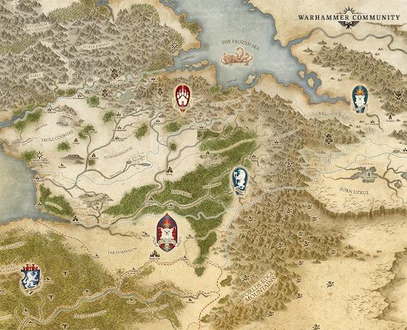 mapa de Kislev
