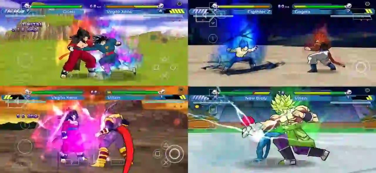 Super Dragon Ball Heroes DBZ Shin Budokai 2 MOD