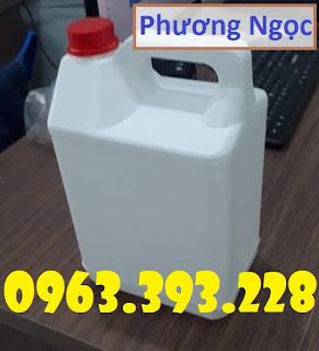 Can nhựa đựng hóa chất 5 Lít, can nhựa HDPE, can nhựa 5L E471730f499fadc1f48e