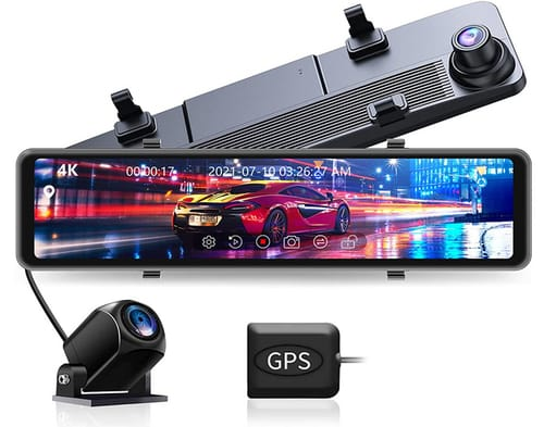 JOMISE G860 4K Touch Screen Mirror Dash Cam for Cars