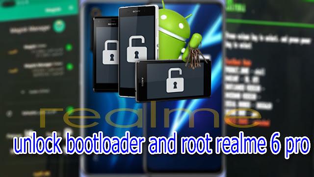 كيفية فتح البوت لودر وعمل روت لهواتف ريلمى مثل هاتف Realme 6 pro
