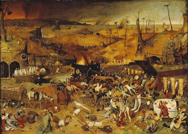 El triunfo de la Muerte, Brueghel el Viejo; Museo del Prado, Madrid