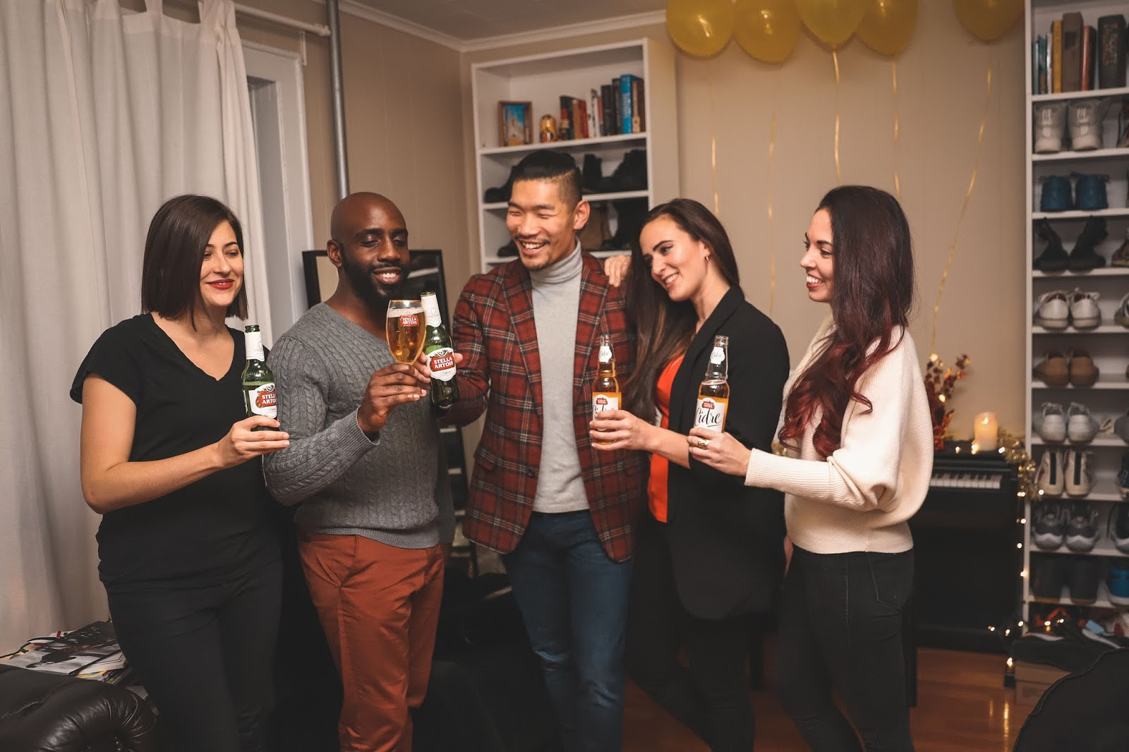 Leo Chan hosting Friendsgiving Party with Stella Artois | Menswear, Lifestyle