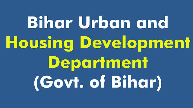 Bihar Urban and Housing Development Department (Govt. of Bihar)