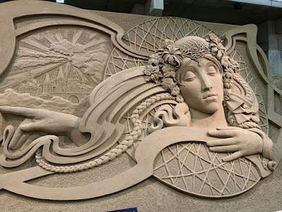 砂の彫刻作品その3