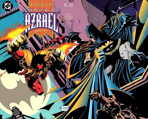 Cover de Batman: Sword of Azrael 1