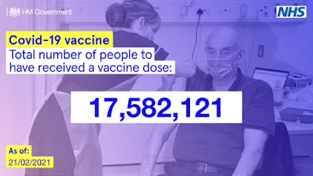 210221 vaccine total uk gov nhs text over soft image of nurse vaccinating person in chair