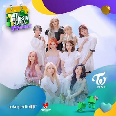 TWICE Tokopedia WIB TV show