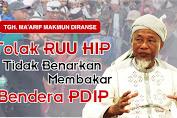 Rois Syuriah NU Loteng, Tolak RUU HIP Tidak Benarkan Pembakaran Bendera Organisasi