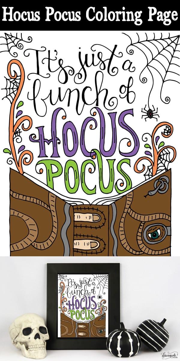 Musings Of An Average Mom Hocus Pocus Movie Diys Printables And Recipes