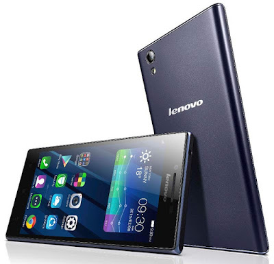 Lenovo P70 Specifications - LAUNCH Announced 2015, January DISPLAY Type IPS LCD capacitive touchscreen, 16M colors Size 5.0 inches (~67.6% screen-to-body ratio) Resolution 720 x 1280 pixels (~294 ppi pixel density) Multitouch Yes, up to 5 fingers BODY Dimensions 142 x 71.8 x 8.9 mm (5.59 x 2.83 x 0.35 in) Weight 149 g (5.26 oz) SIM Dual SIM (Micro-SIM, dual stand-by) PLATFORM OS Android OS, v4.4 (KitKat) CPU Octa-core 1.7 GHz Cortex-A53 Chipset Mediatek MT6752 GPU Mali-T760MP2 MEMORY Card slot microSD, up to 32 GB (dedicated slot) Internal 16 GB, 2 GB RAM CAMERA Primary 13 MP, f/2.0, autofocus, LED flash Secondary 5 MP Features Geo-tagging, touch focus, face detection, HDR, panorama Video 1080p@30fps NETWORK Technology GSM / HSPA / LTE 2G bands GSM 850 / 900 / 1800 / 1900 - SIM 1 & SIM 2 3G bands HSDPA 900 / 2100 4G bands LTE band 1(2100), 3(1800), 7(2600), 20(800) - Data only, no voice Speed HSPA 21.1/5.76 Mbps, LTE Cat4 150/50 Mbps GPRS Yes EDGE Yes COMMS WLAN Wi-Fi 802.11 b/g/n, hotspot GPS Yes, with A-GPS USB microUSB v2.0, USB Host Radio FM radio Bluetooth v4.0, A2DP FEATURES Sensors Accelerometer, proximity Messaging SMS(threaded view), MMS, Email, Push Mail, IM Browser HTML5 Java No SOUND Alert types Vibration; MP3, WAV ringtones Loudspeaker Yes 3.5mm jack Yes  - Active noise cancellation with dedicated mic BATTERY  Non-removable Li-Po 4000 mAh battery Stand-by Up to 816 h (2G) / Up to 696 h (3G) Talk time Up to 46 h (2G) / Up to 18 h (3G) Music play  MISC Colors Midnight Blue  - MP4/H.264 player - MP3/WAV/WMA/eAAC+ player - Photo/video editor - Document viewer