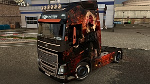 Payday skin for Volvo 2012