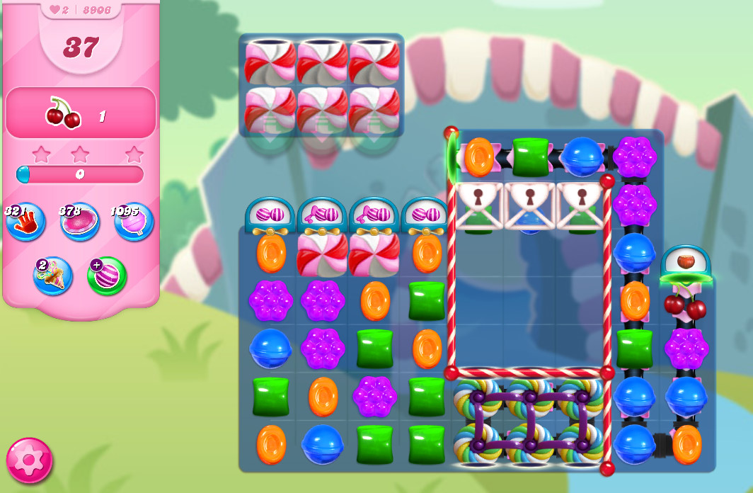 Candy Crush Saga level 8906