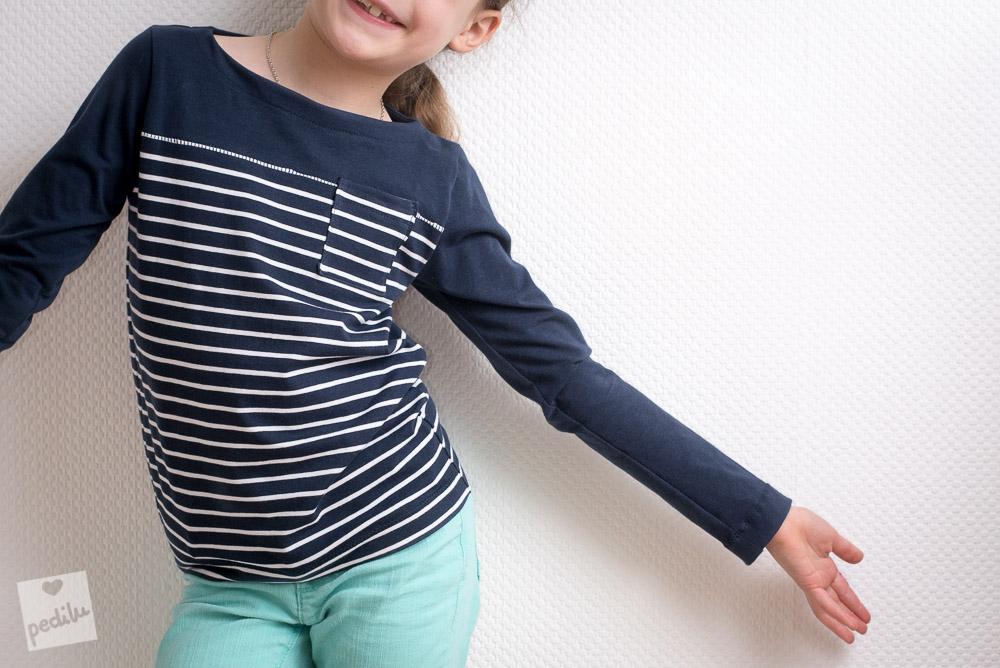 E-Book LeBretöngchen – Ein Basic-Shirt mit Teilung und Brusttasche