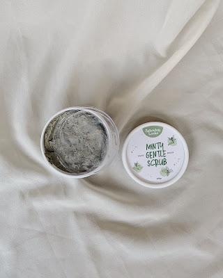 saturday looks minty gentle scrub mask texture