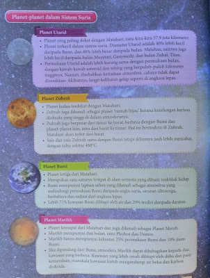 planet-planat dalam sistem suria
