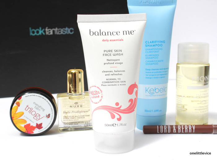one little vice beauty blog: Look Fantastic July beauty box subscription contents
