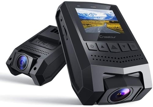 Review Crosstour CR250 Mini Dash Cam FHD Car Camera
