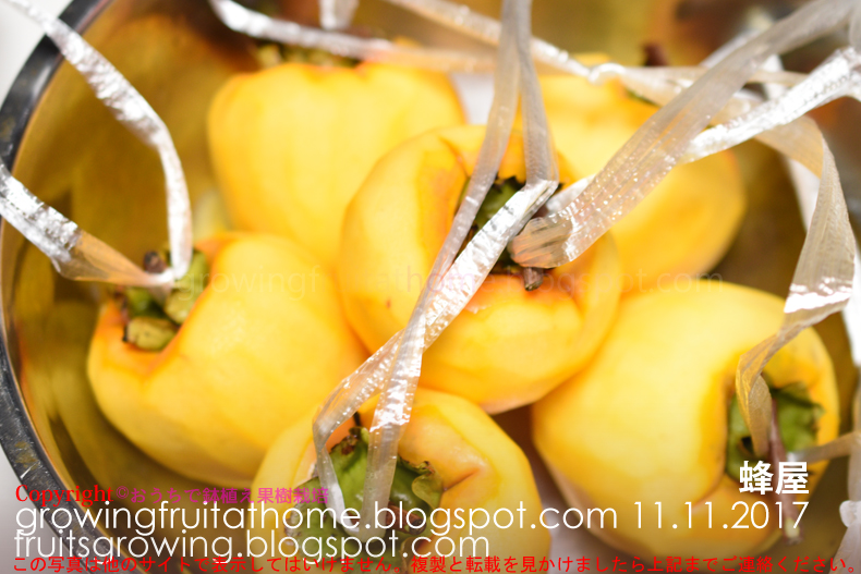 蜂屋柿の干し柿