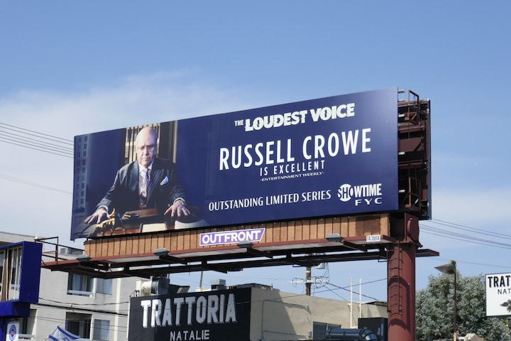 Russell Crowe Loudest Voice Emmy FYC billboard