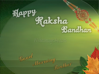 Raksha Bandhan Good Morning wishes Images for Brothers