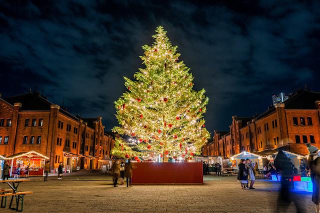 クリスマス,日の丸,撮り方,イルミネーション